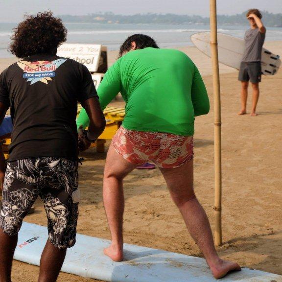 Weligama, Beach Break