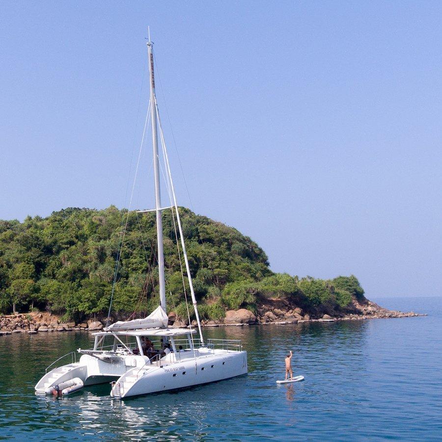 Catamaran Sailboat Cruise