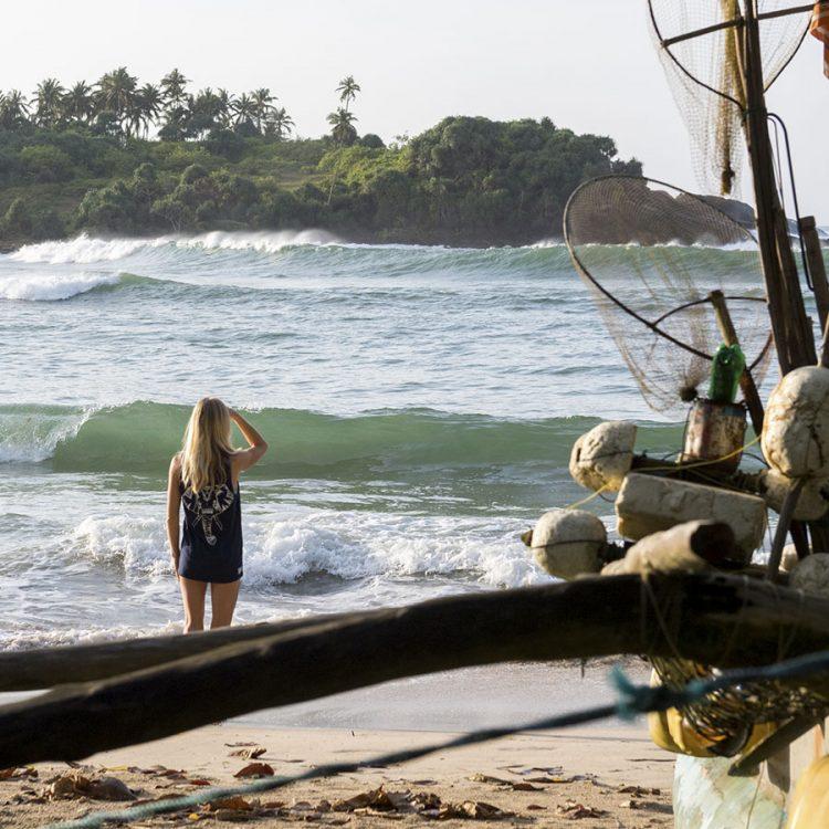 Dikwella, Hiriketiya Bay, Beach Break